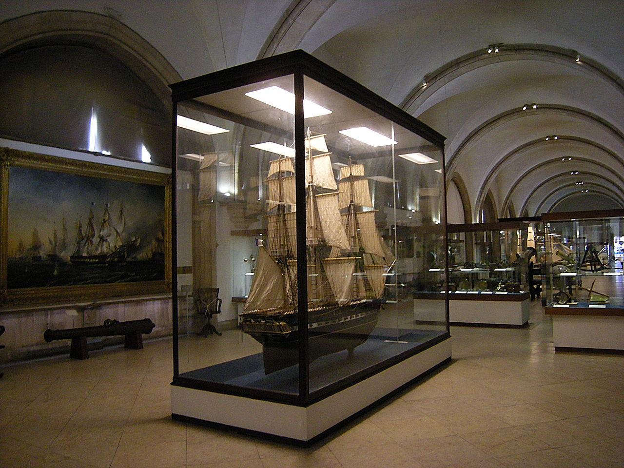 Морской музей Лиссабона, интерьер