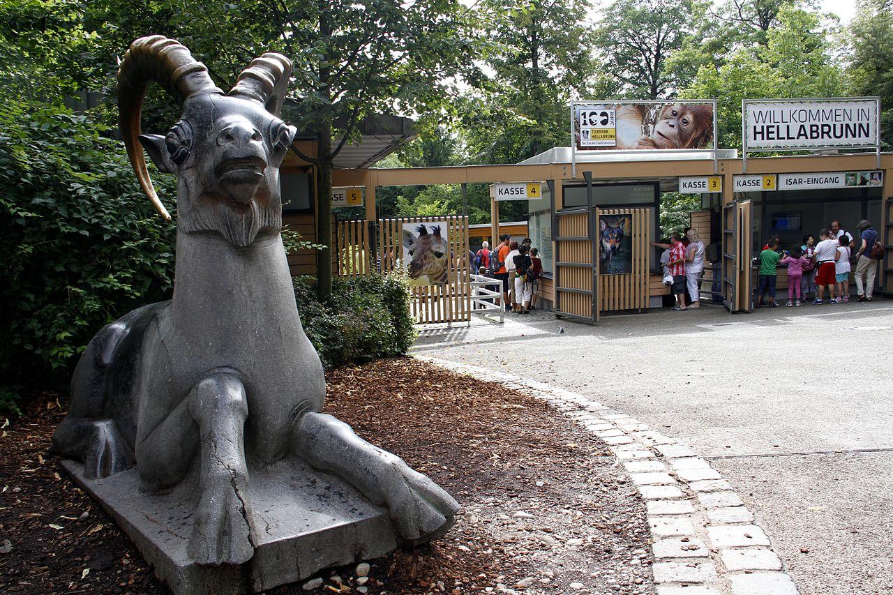 Хеллабрунн (зоопарк в Мюнхене), у входа