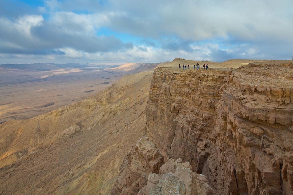 Вид на пустыню Негев