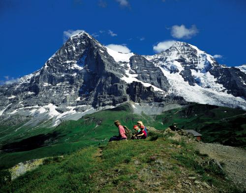 Горы Eiger (3970m), Moench (4099 m), Гриндельвальд.jpeg