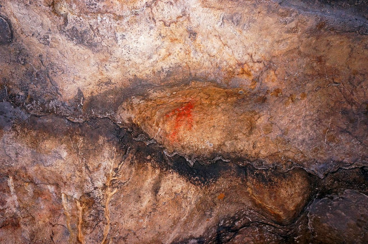 Игнатьевская пещера, рисунок древнего человека