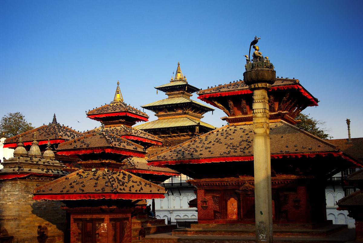 Площадь Дубар в Катманду