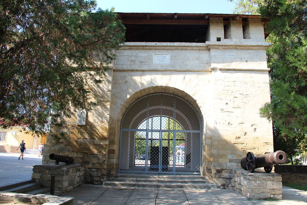Русские ворота в Анапе, памятник османской военной архитектуры XVIII века