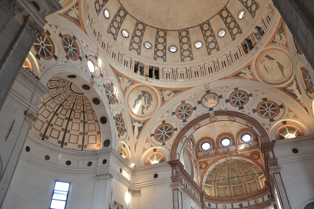 Санта-Мария-делле-Грацие, купол