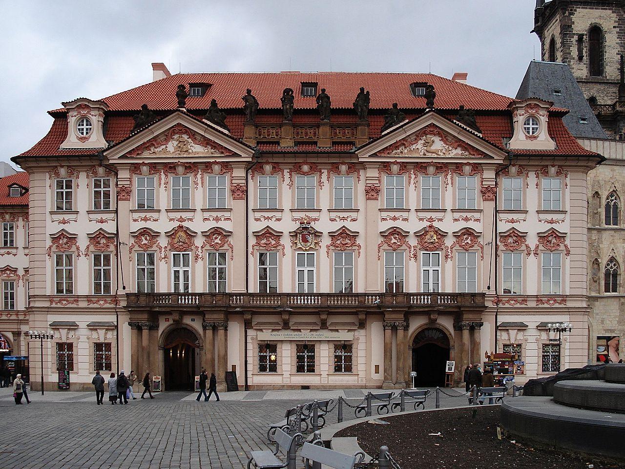 Староместская площадь, дворец Кинских