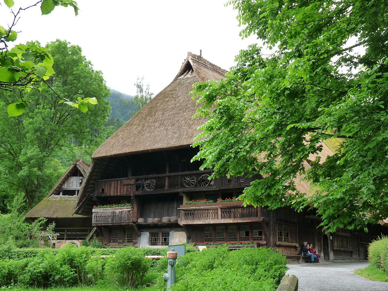 Шварцвальд, традиционный дом