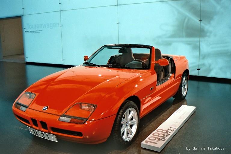 Экспонат музея BMW, Мюнхен