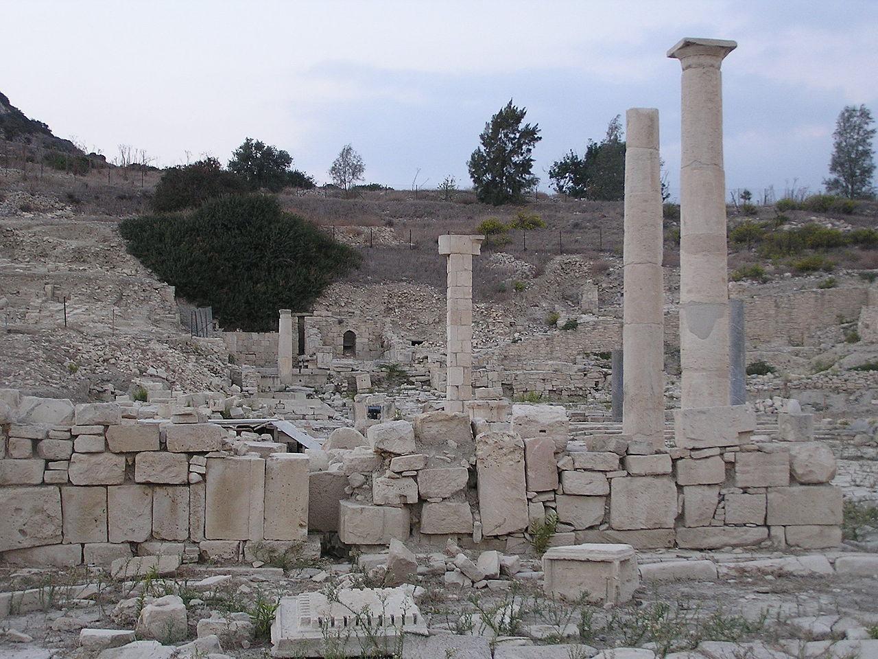 Древний Аматус, Кипр