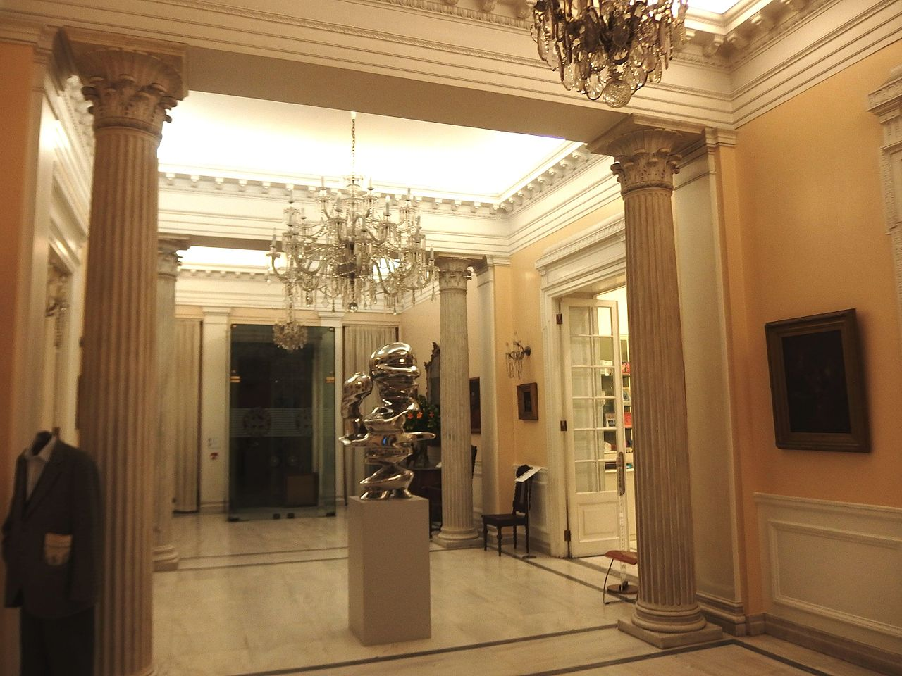 Музей Бенаки, один из залов