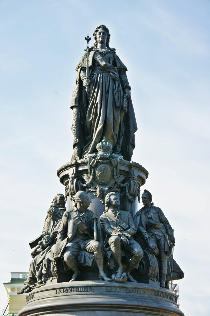 История создания памятника екатерине 2 памятники из гранита воронеж  Владыкино