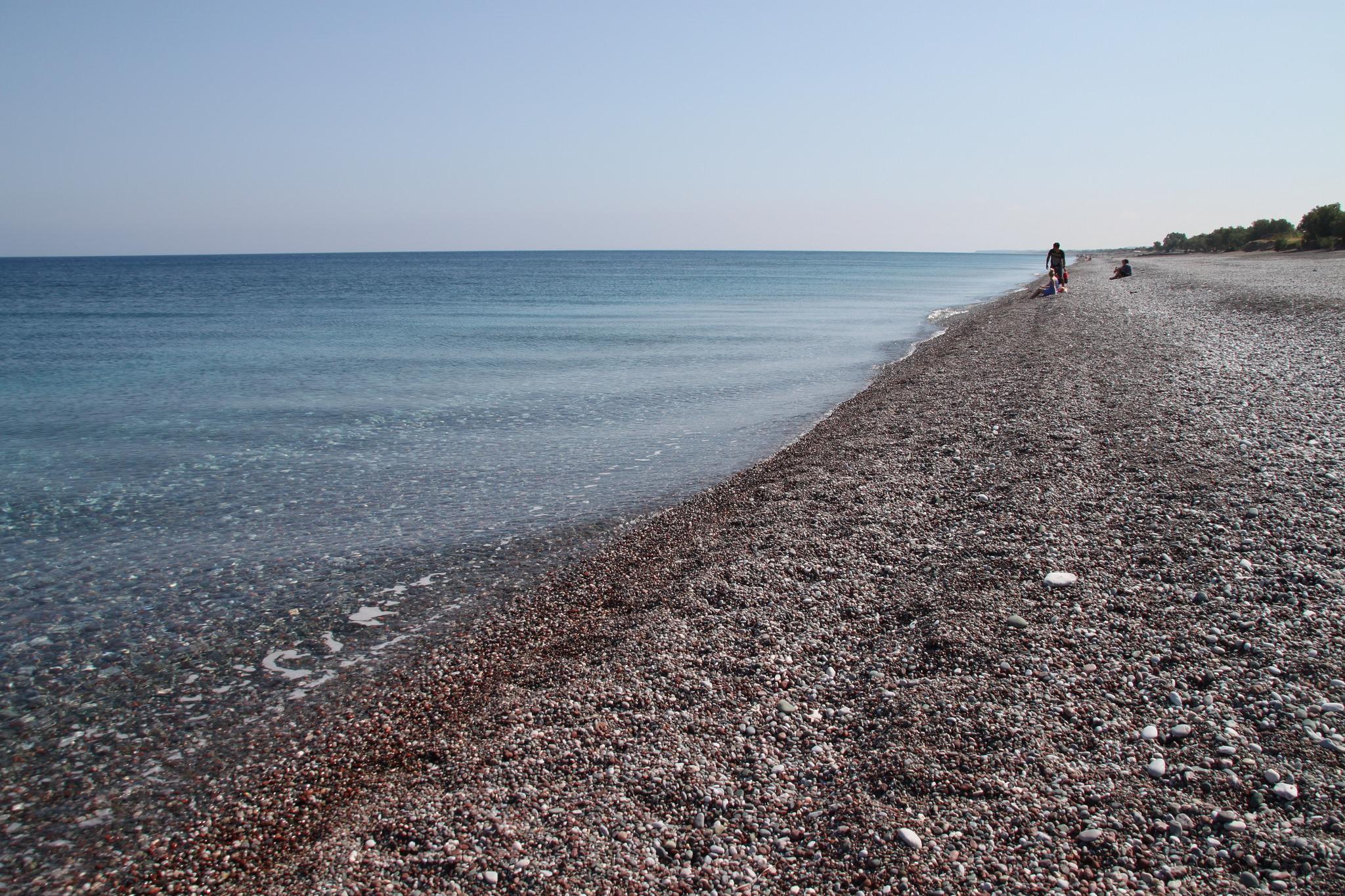 Пляж Афанду, кромка моря