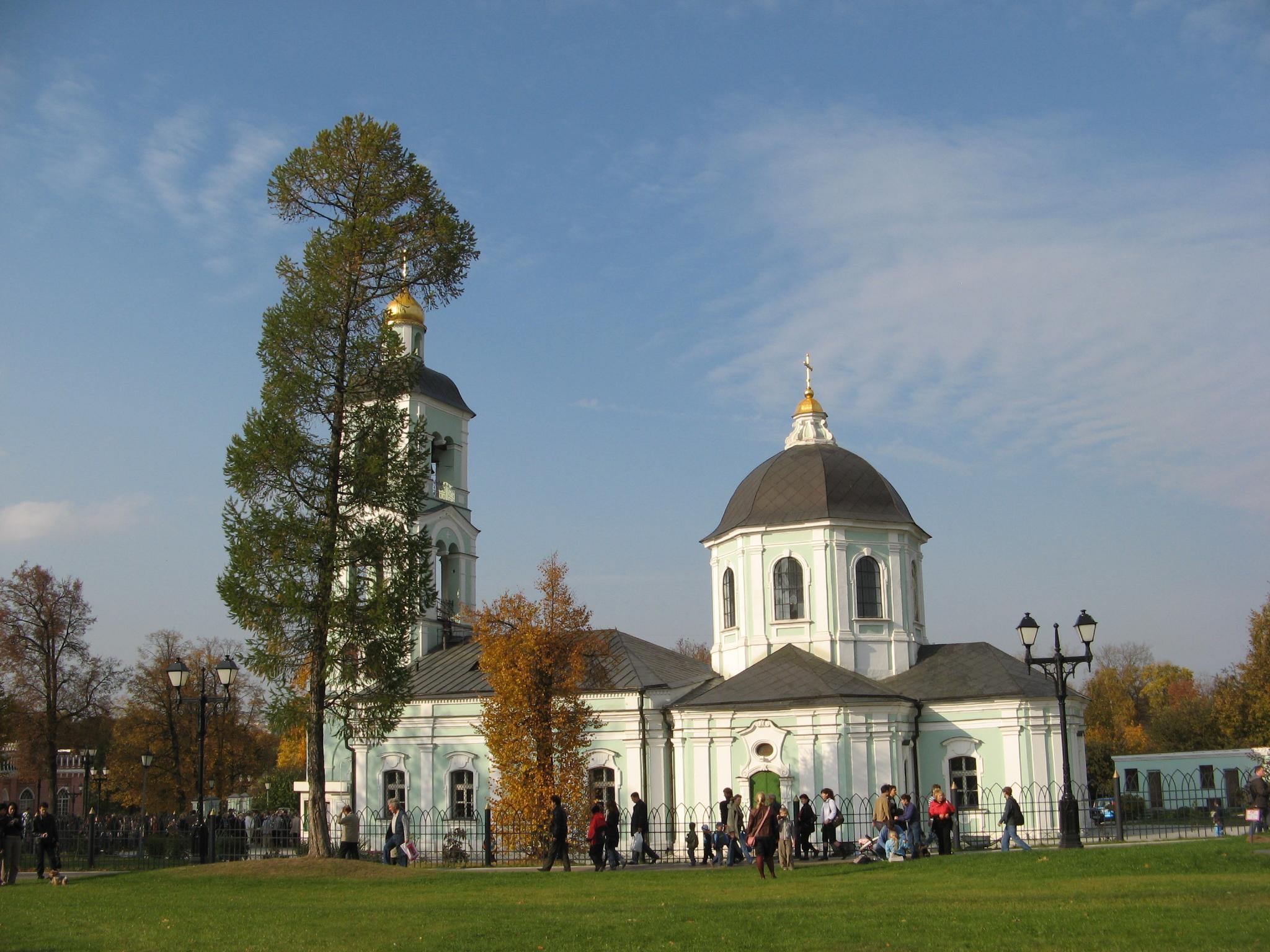 Храм иконы Божией Матери «Живоносный Источник», Царицыно, Москва