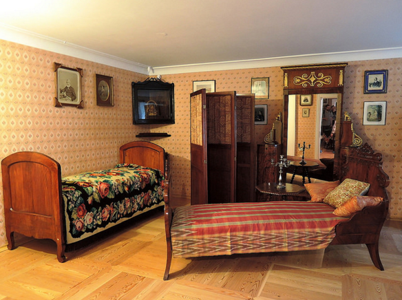 Комната в музее-усадьбе Мураново
