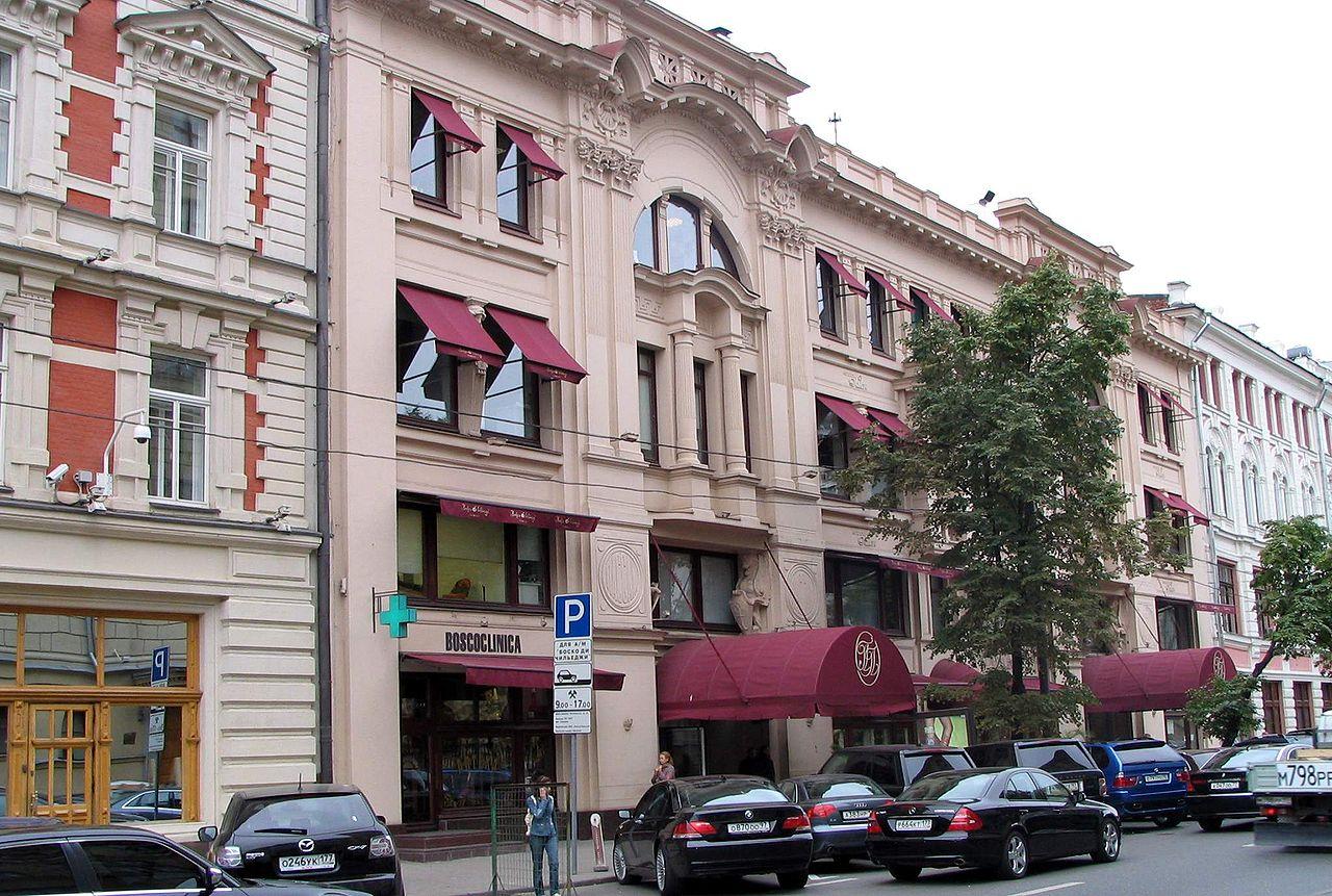 Петровский пассаж, вид с улицы Неглинная