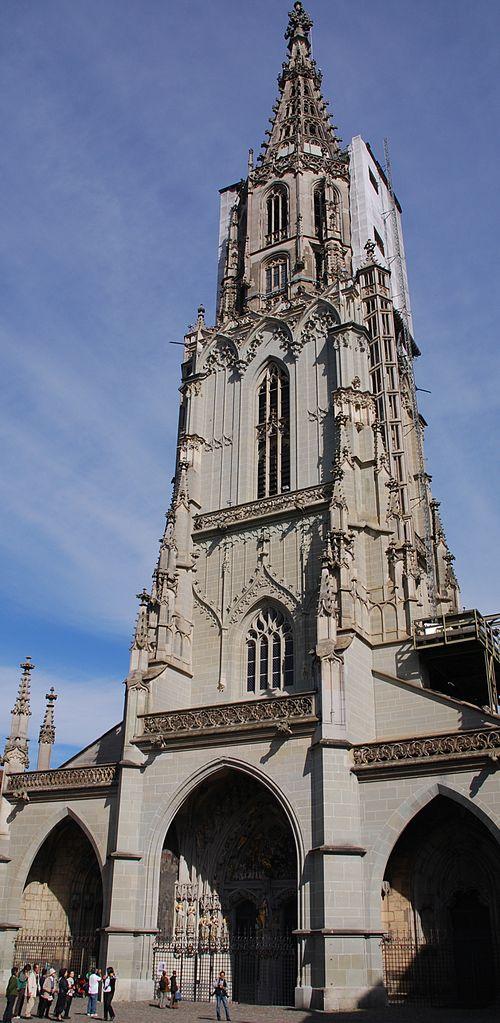 Бернский собор, колокольня
