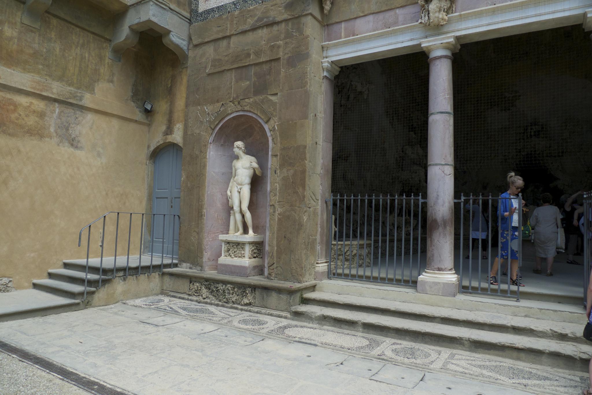 Коридор Вазари, вход