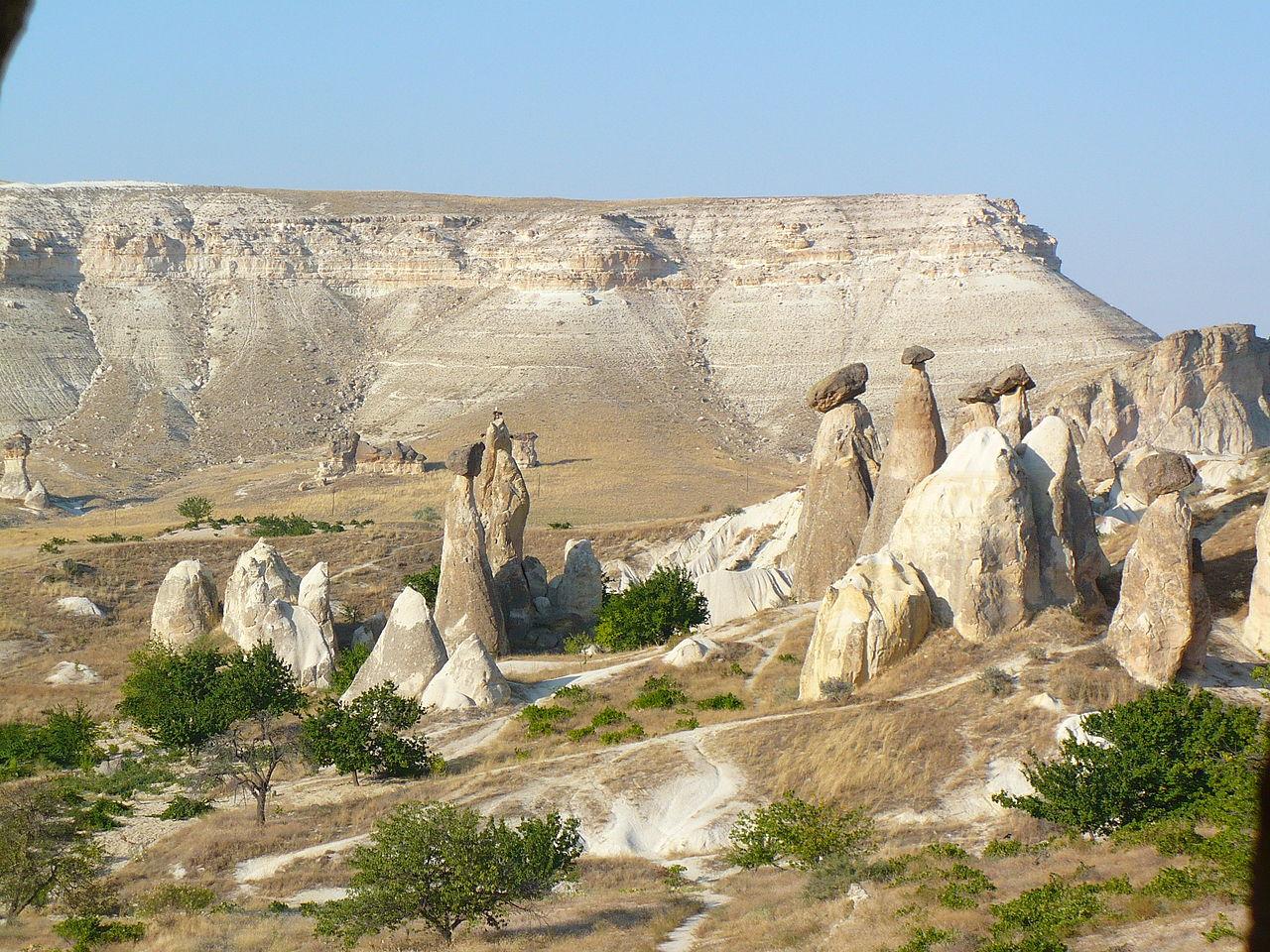Окрестности Ургюпа, Турция