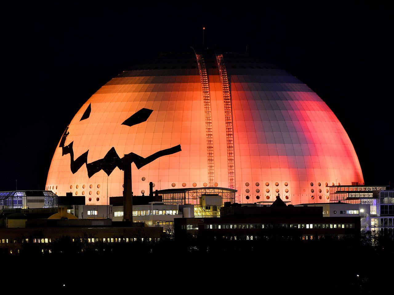 Глобен-Арена, Хеллоуин