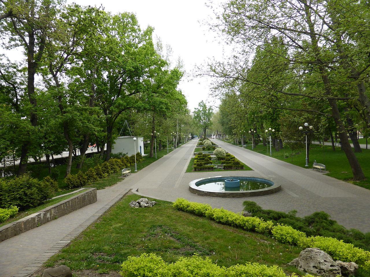 Городской сад (парк им. М. Горького) в Краснодаре