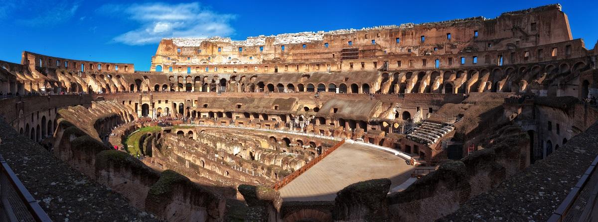 Колизей в Риме, Рим