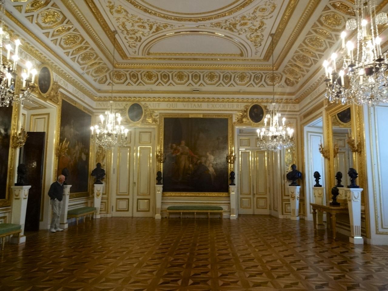 Королевский замок в Варшаве, Рыцарский зал
