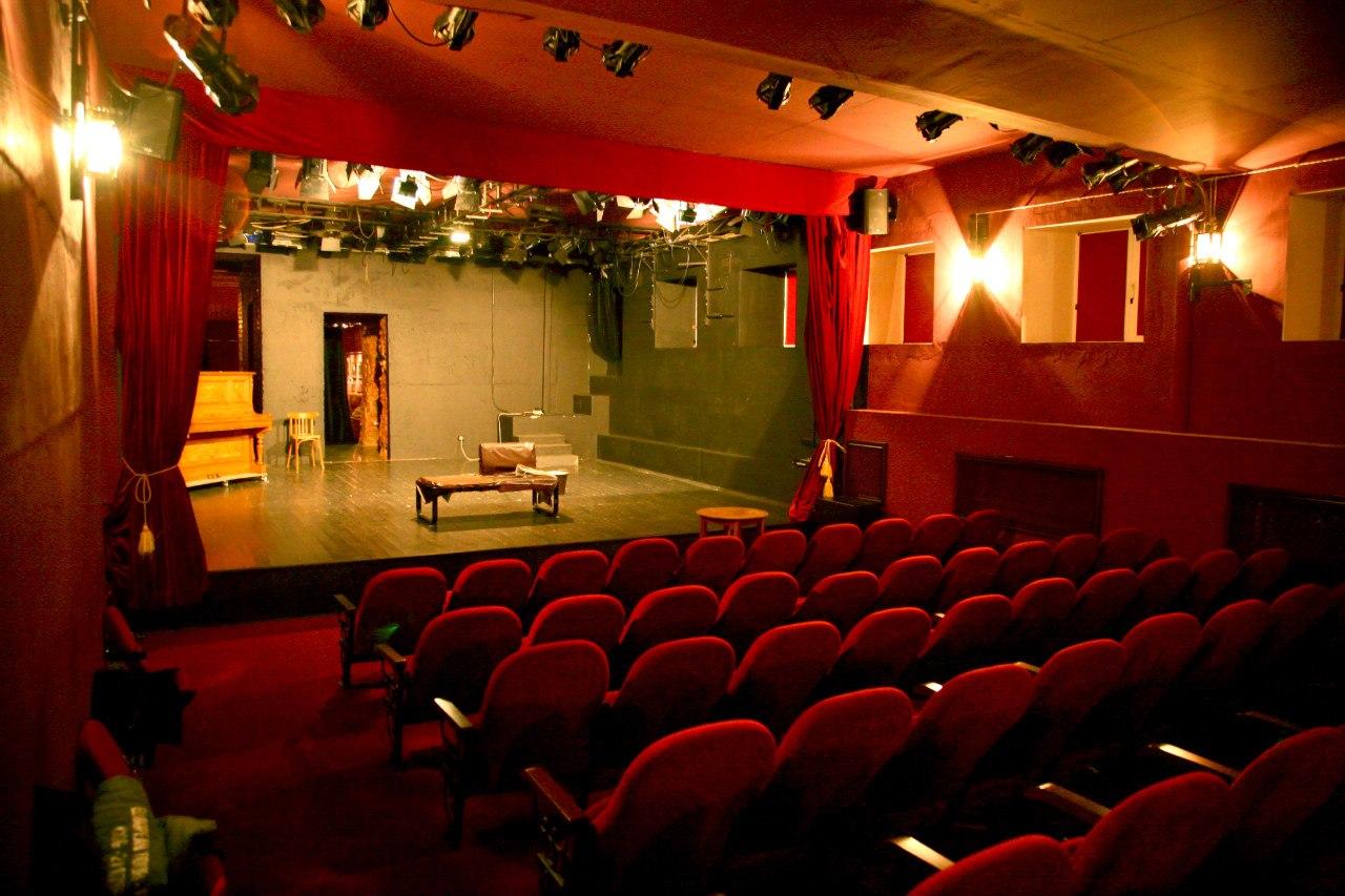 Театральный зал в Музее-театре «Булгаковский дом»