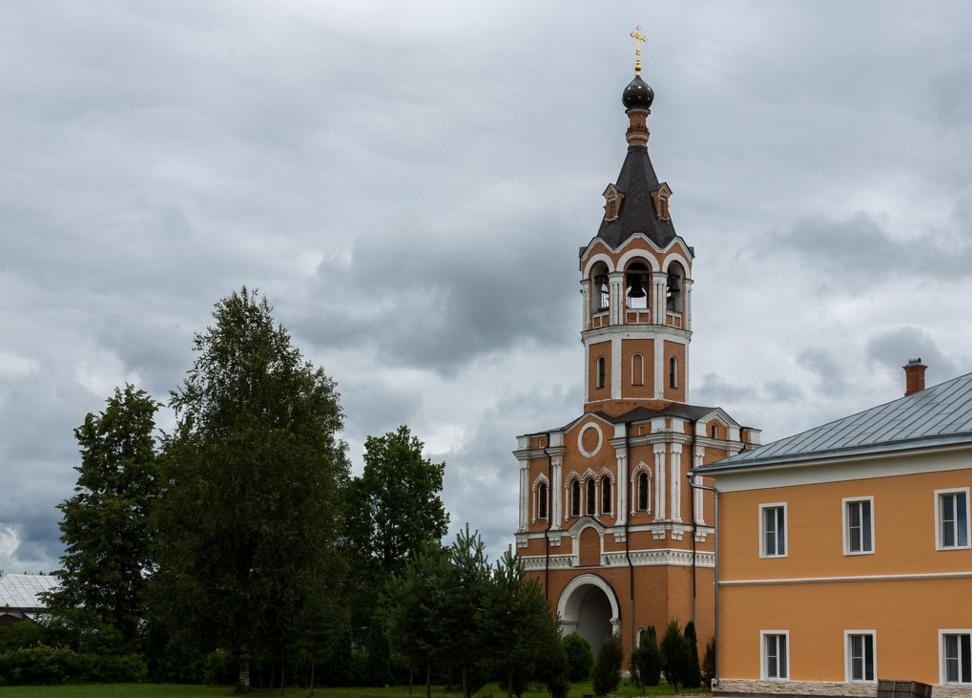 Зосимова Пустынь, церковь Иоанна Предтечи