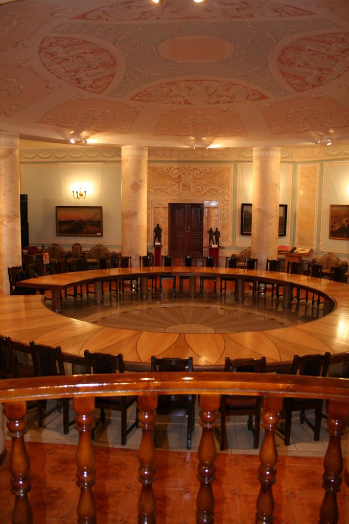 Комната переговоров в бункере Сталина, Самара