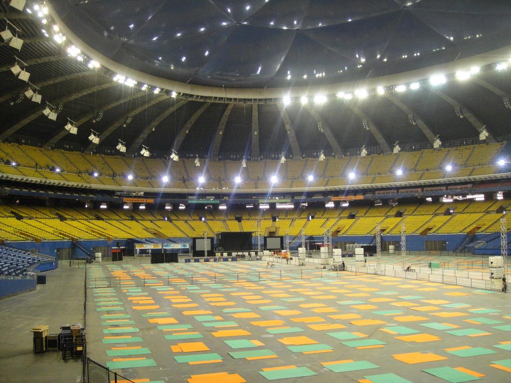 Олимпийский стадион Монреаля, главная арена