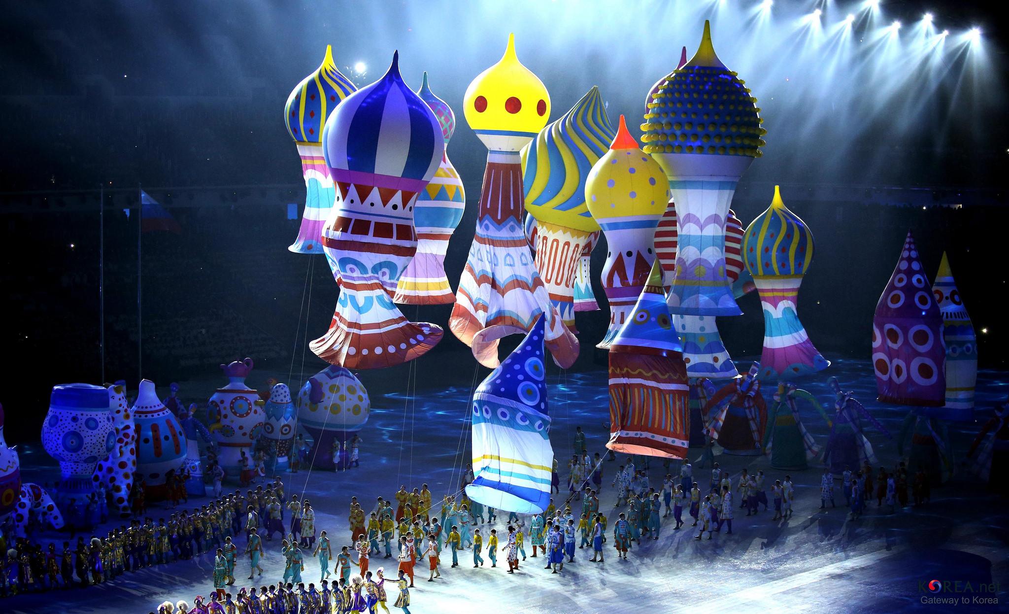 Олимпиада в Сочи открытие олимпиады районы проведения  Представление в Сочи
