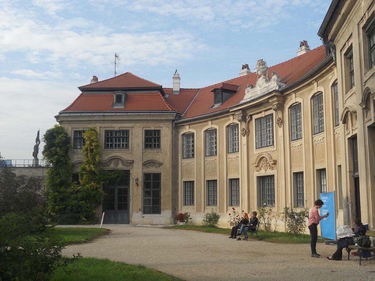 Шварценбергский дворец в Праге, двор