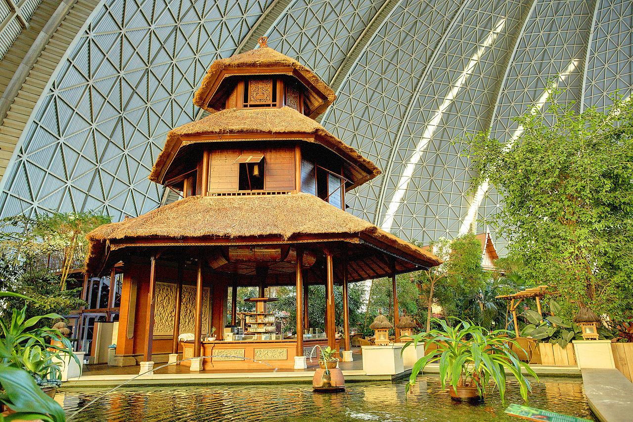 Аквапарк Tropical Island, павильон Бали
