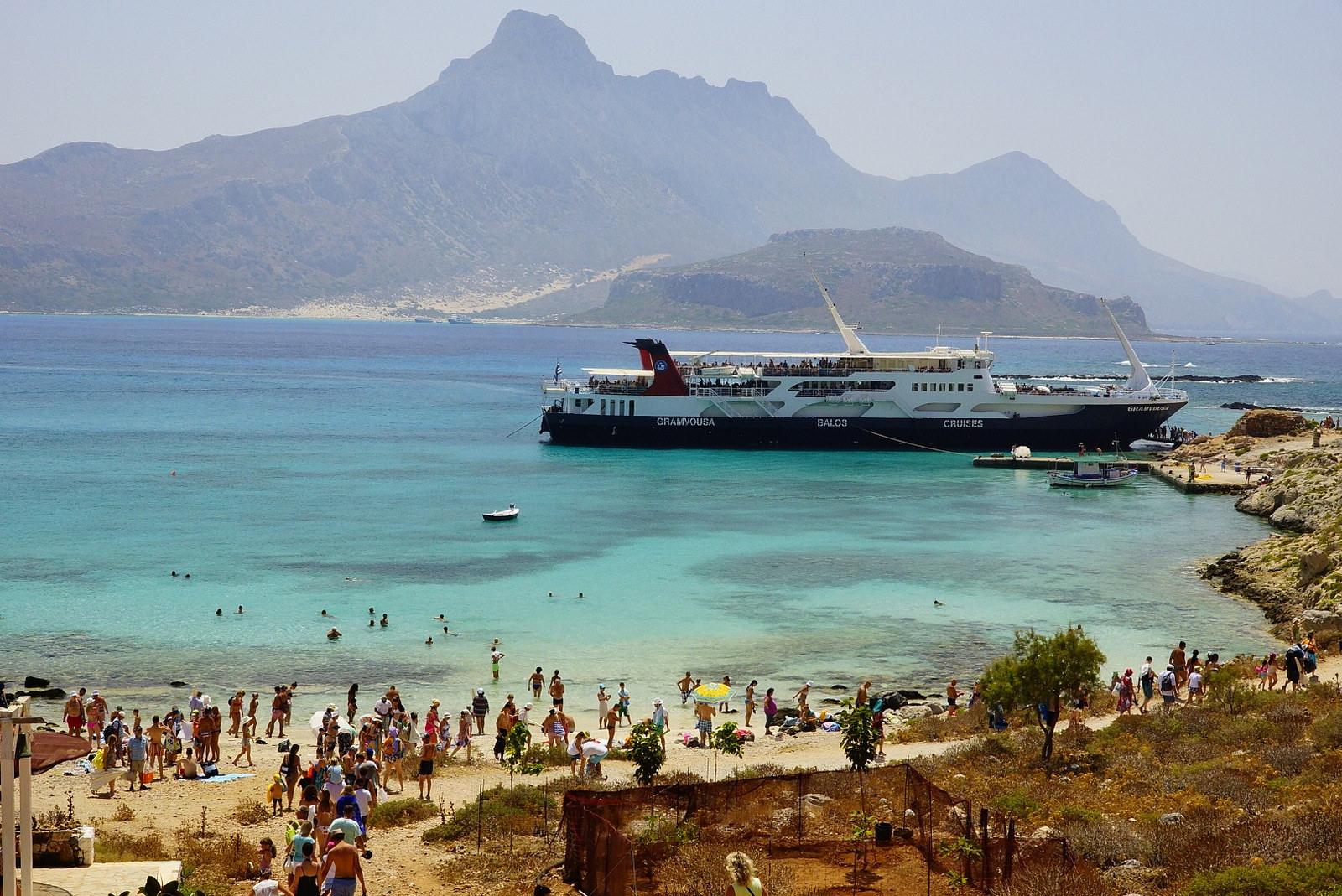 Бухта и пляж Балос