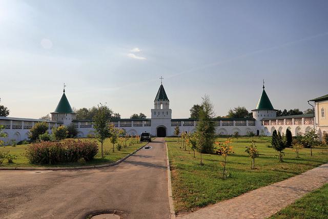 Вид на Ипатьевский монастырь, Кострома