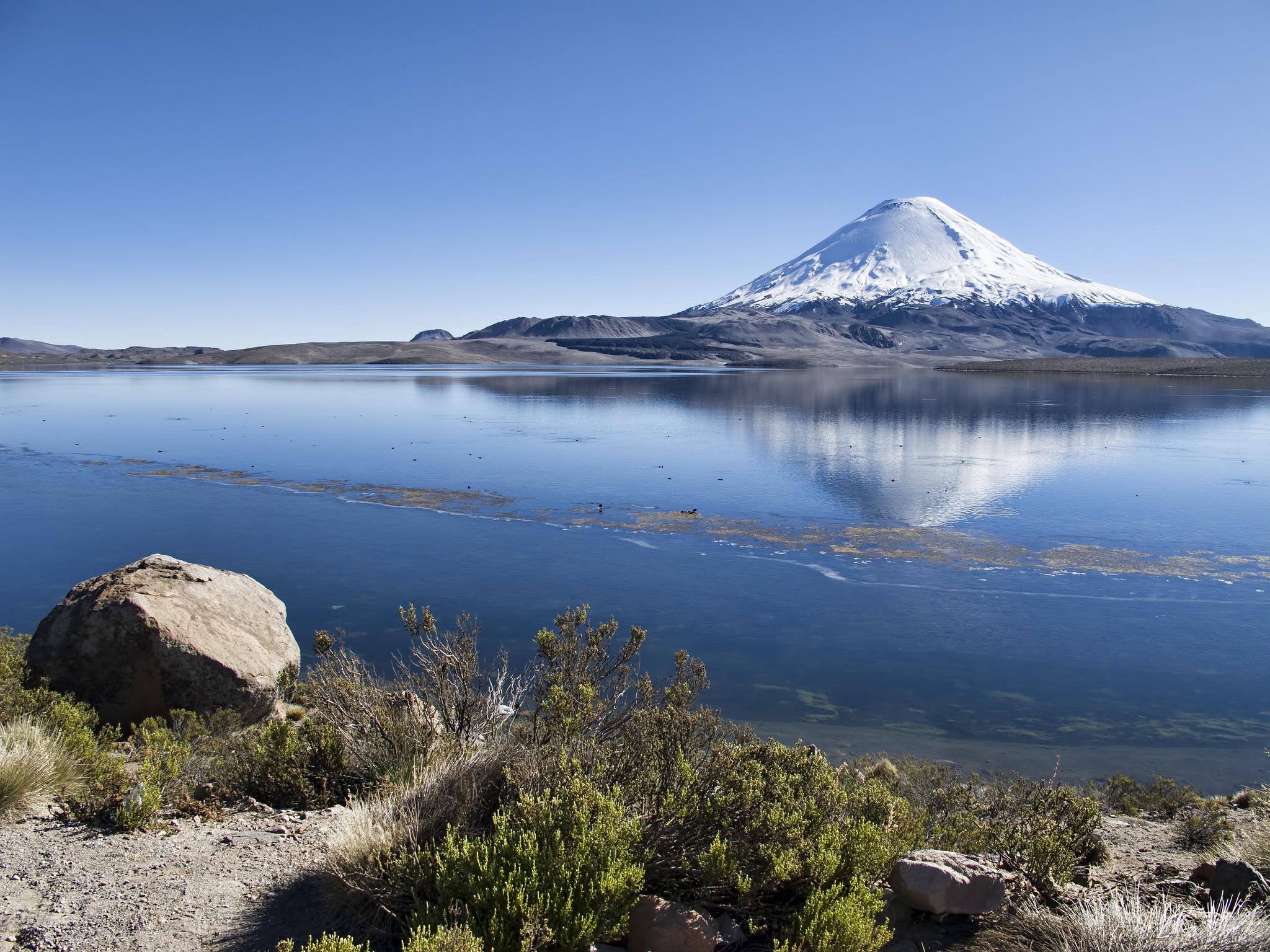Вид на озеро Чунгара