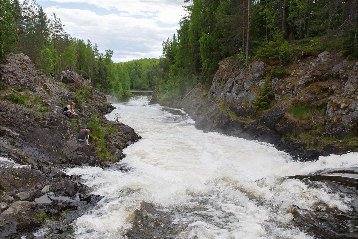 Водопад Кивач, Республика Карелия
