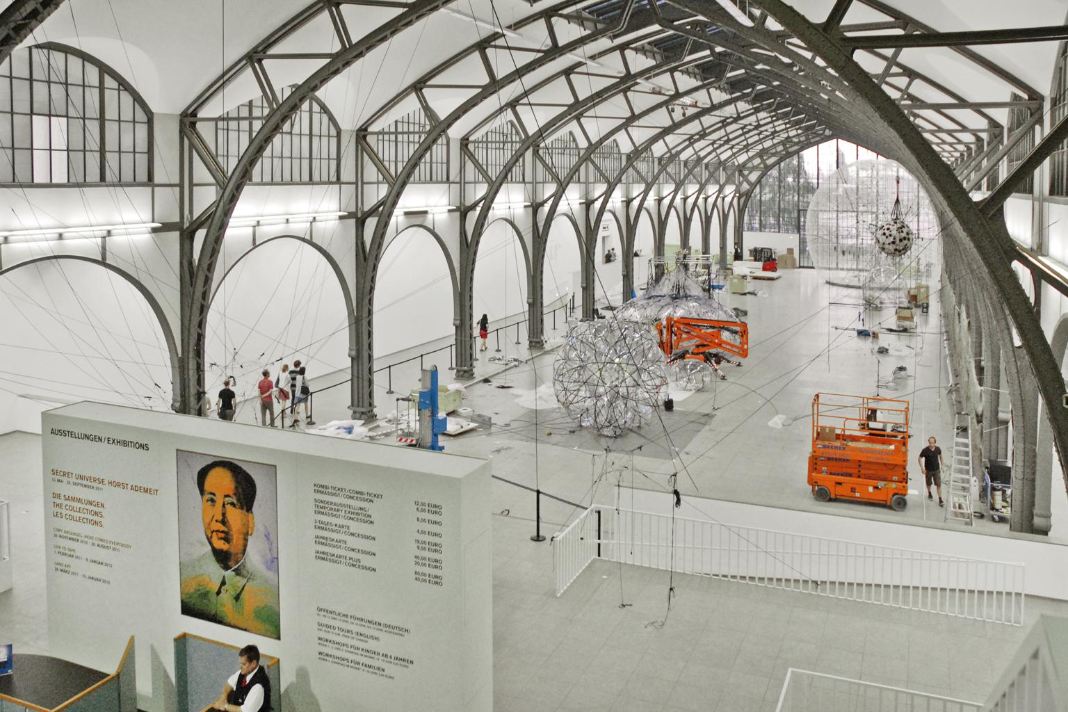 Гамбургский вокзал в Берлине, выставочный зал