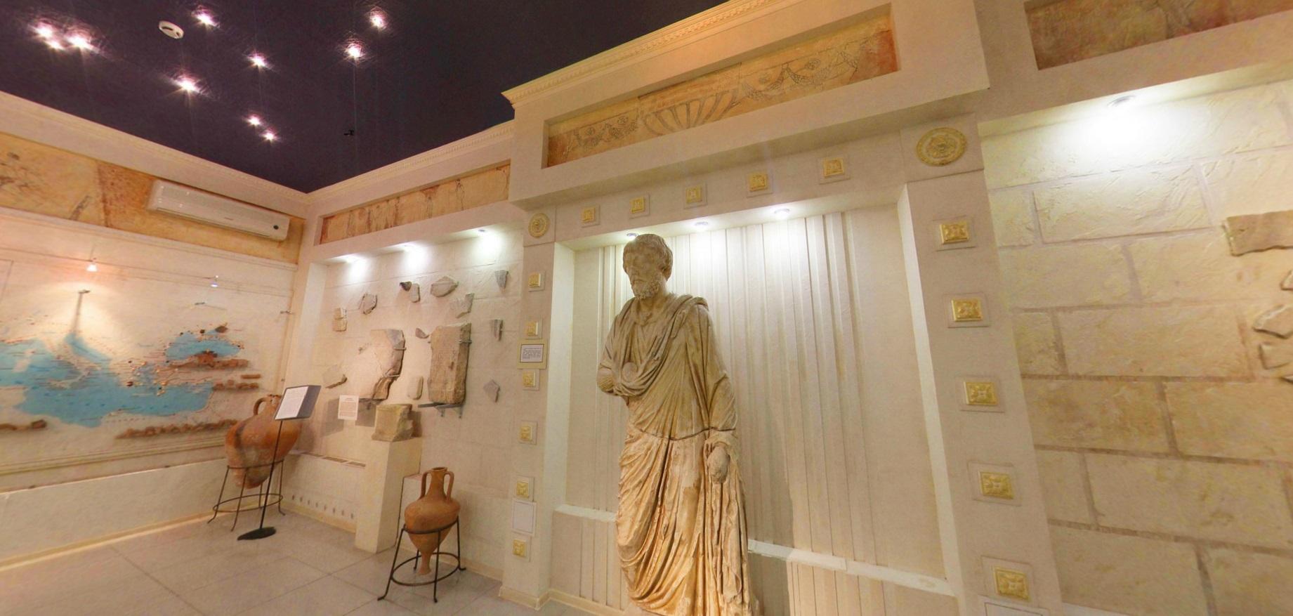 Один из залов, Музей Горгиппия в Анапе