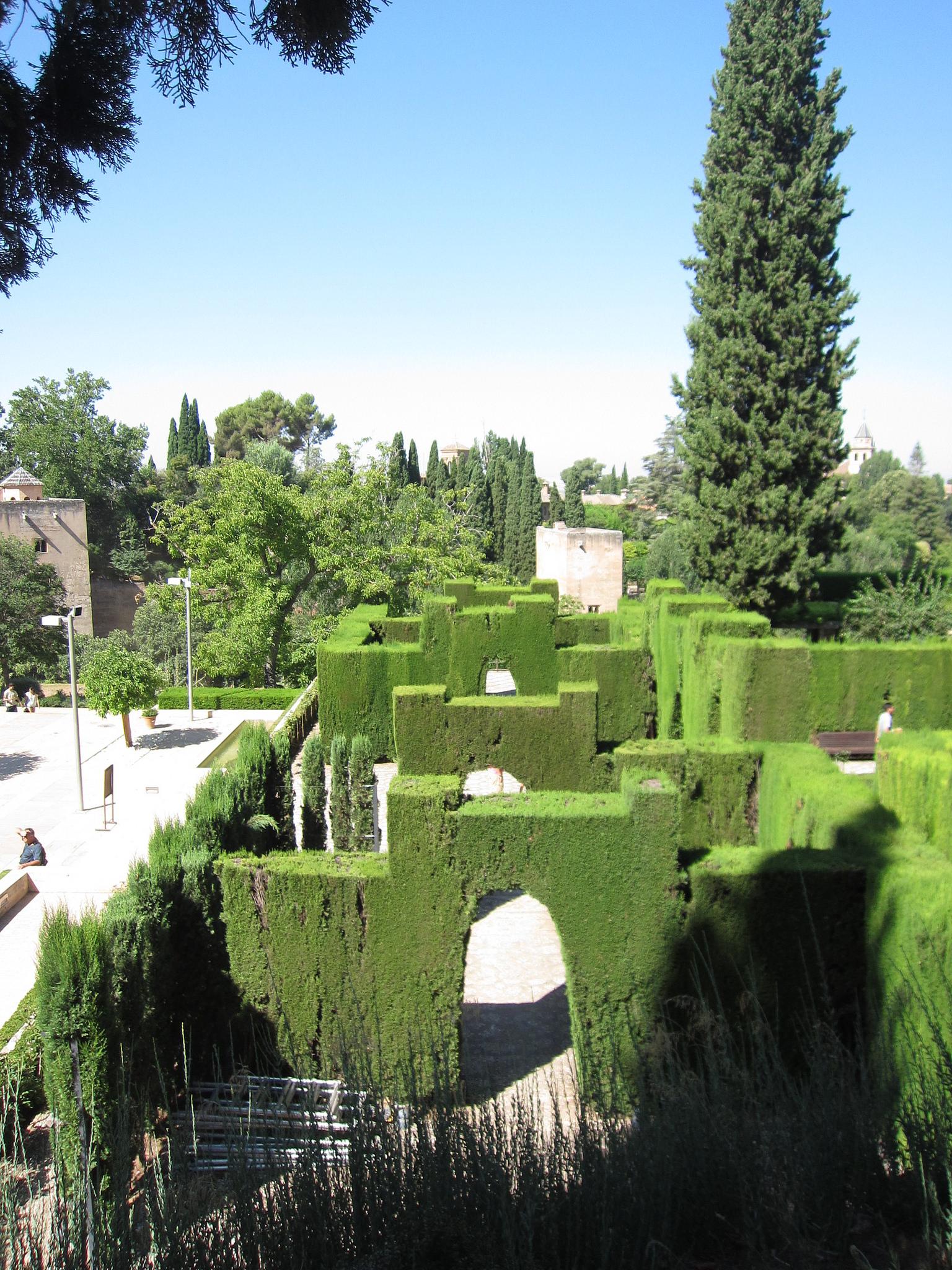Сады Хенералифе, Хардин-да-ла-Султана