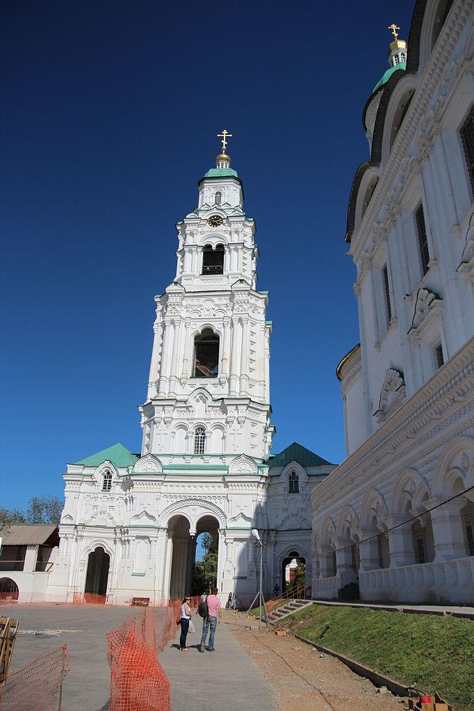 Астраханский кремль, Соборная колокольня с Пречистинскими воротами