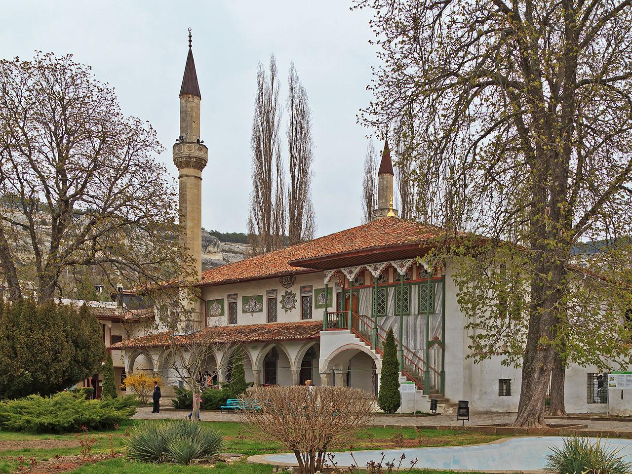 Бахчисарайский дворец, Большая ханская мечеть