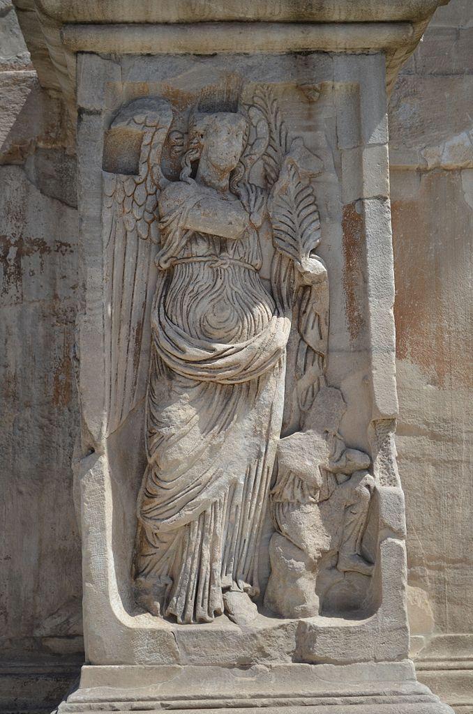 Римский Колизей, барельеф