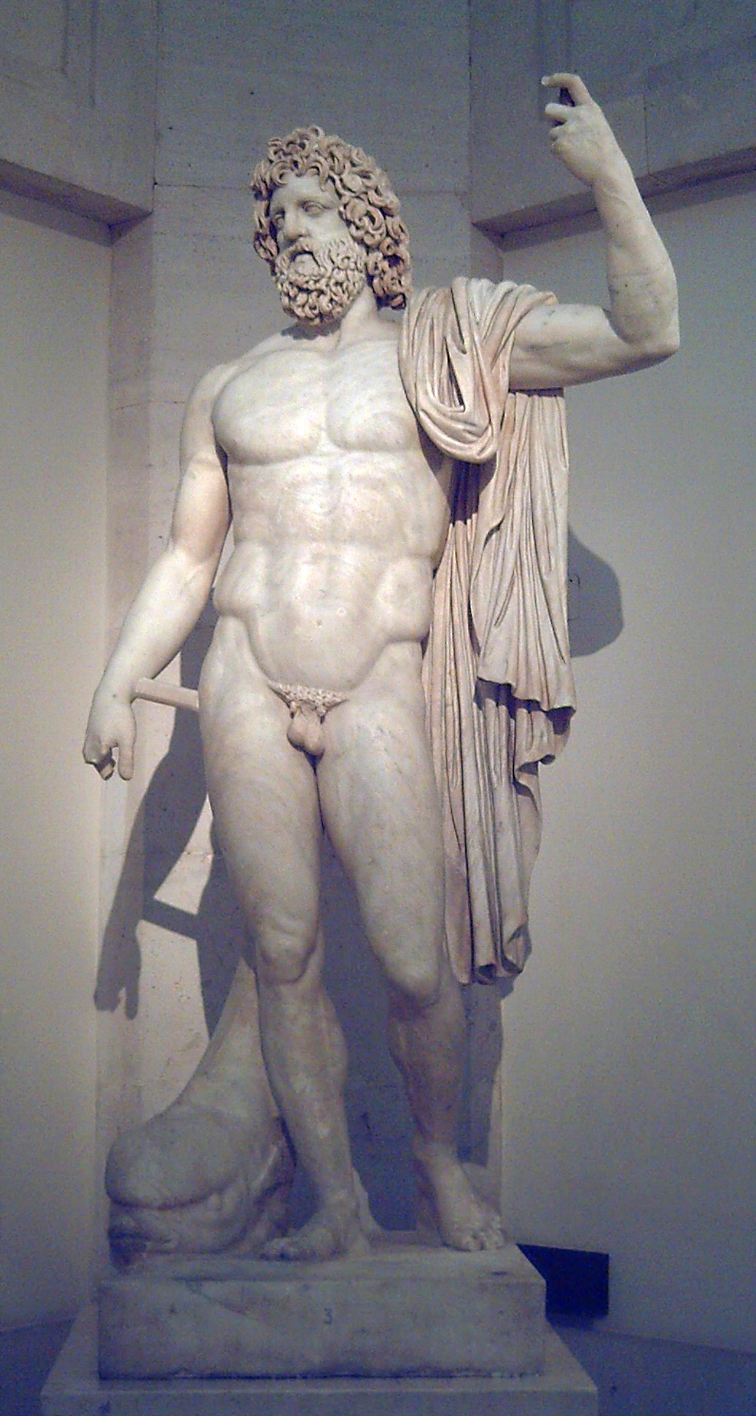 Статуя Нептуна в музее Прадо, Мадрид