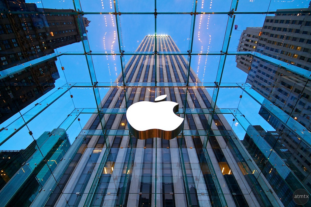 Apple Store на Пятой авеню, Нью-Йорк