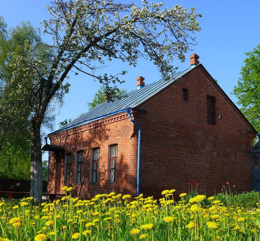 Вид на Дом-музей Шагала