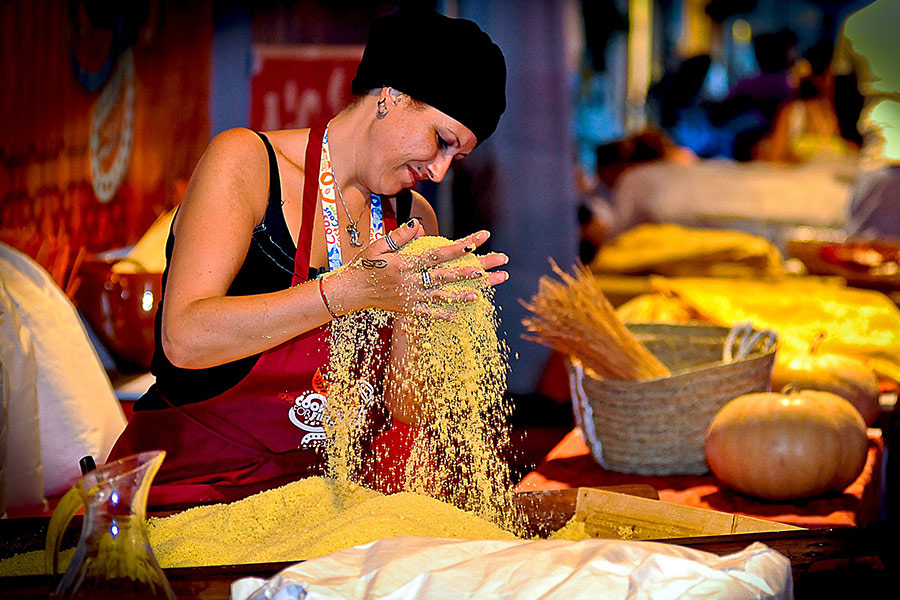 Фестиваль кускуса на Сицилии