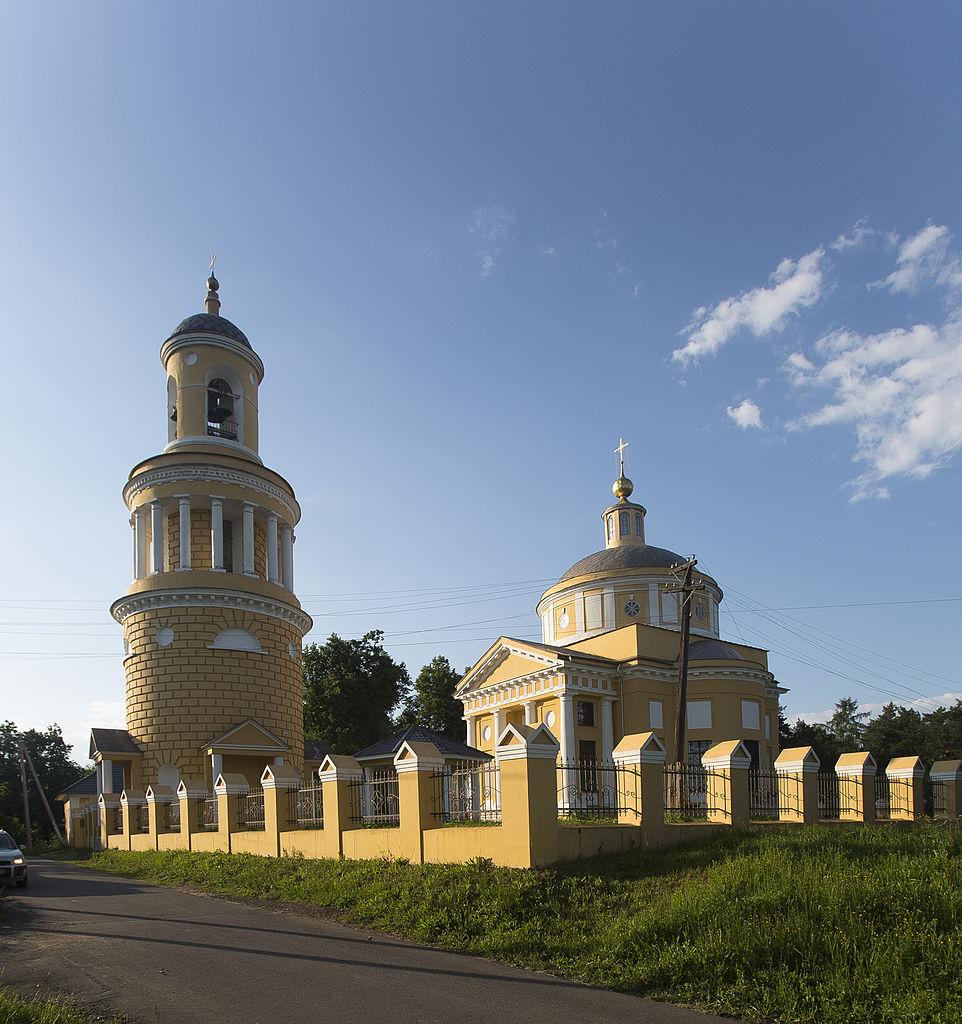 Церковь Николая Чудотворца в Никольском-Гагарино