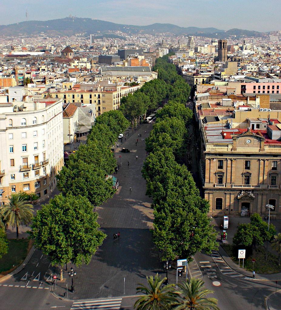 Бульвар Рамбла, Барселона