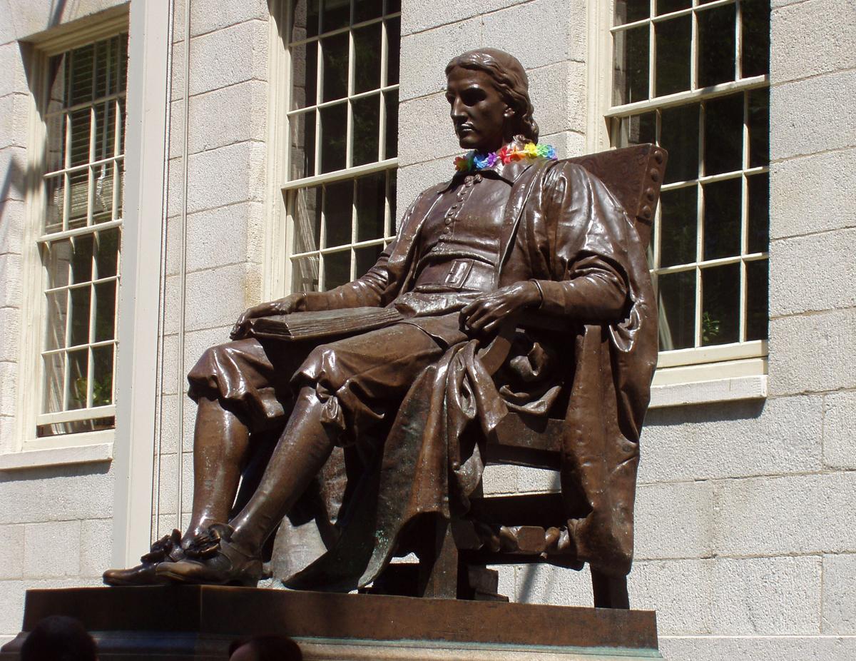 Джон Гарвард, Бостон