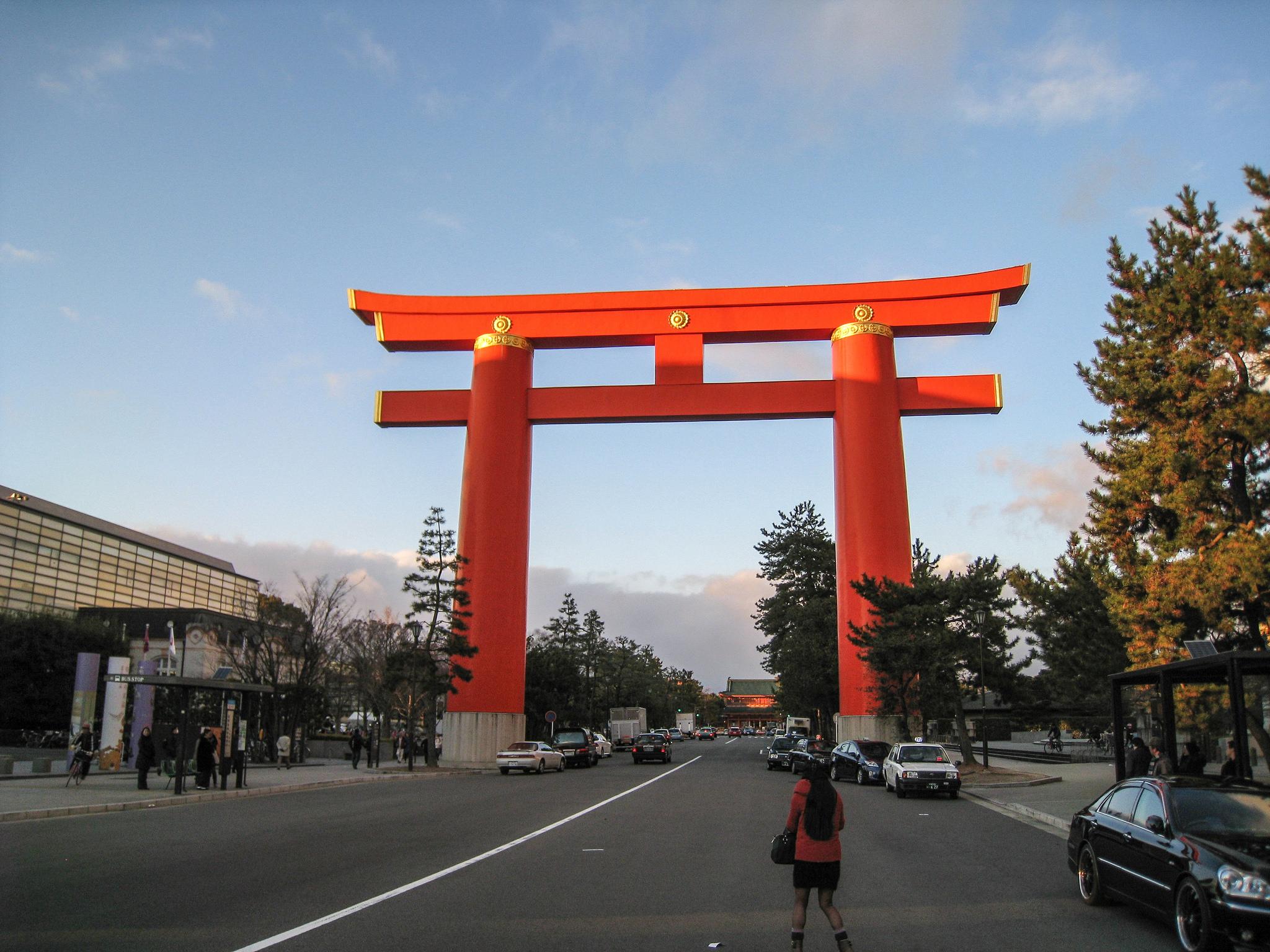 Киотский университет, ворота